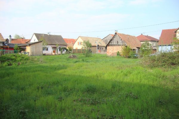 IMMOBILIER ALSACE: TERRAIN 10,12ares VALFF.